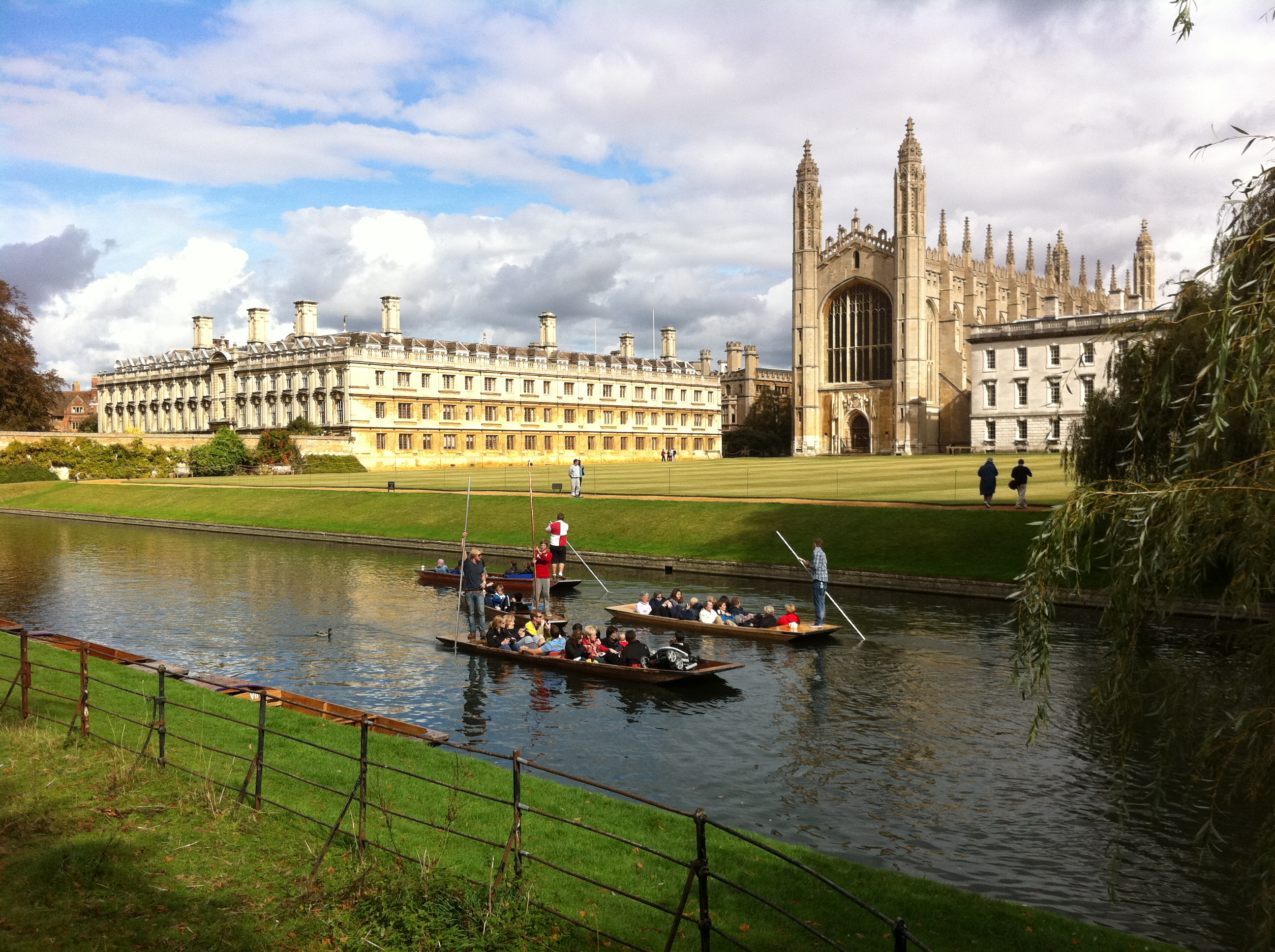 Kings College and Punt
