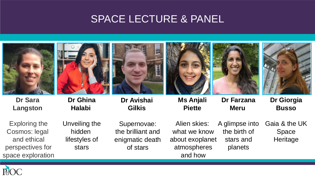 Space Lecture Speakers